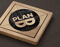 Plan-B - logo & brand mascot for our studio