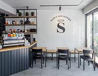Saint Roastery- Interior Design