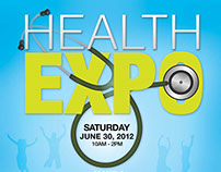 Health Expo Logo & Flyer Design