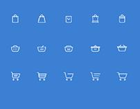 15 Shopping Icon Set