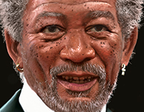 Morgan Freeman ipad pro