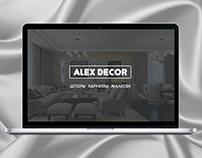 Web design ALEX DECOR
