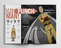 One Punch Man! Editorial Design