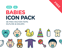 Babies Icon Pack
