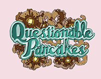 Stickers & Album art: Questionable Pancakes