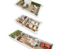 Terraced Housing. Utrera (Seville)