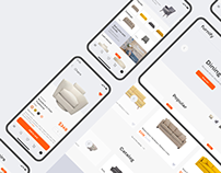 Furniture — concept e-commerce