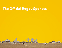 the Official Rugby Sponser