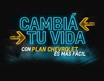 Plan Chevrolet - Cambiá tu vida