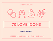 Line Icons – Love