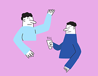 Character Illustration for Motion Video