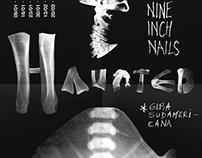 Afiche - Gira sudamericana Nine Inch Nails