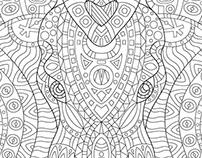 """""""Secret garden"""" style illustration"""