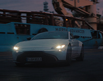 Aston Martin Vantage - Test Run