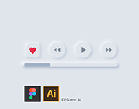 Neumorphism (Soft UI) in User interface design