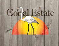 Coral Estate logo-design