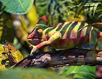 Chameleon Full Cgi Macro