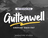 Guttenwell Brush Font