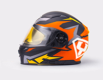 YOHE - Helmet Artwork