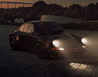 Classic Touring Porsche 911 - CGI