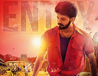 Mersal Vijay Fanmade movie Poster
