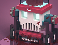 Voxel Art Characters