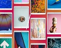 iPad Pro App Screen Presentation Mockup