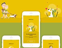 Petsbook Mobile App Design