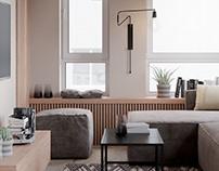 Studio apartament in Kyiv