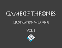 Game Of Thrones - Illustration Weapons - Vol.1