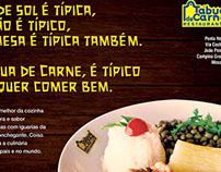 Anúncio de revista da Tábua de Carne.