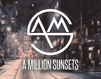 A Million Sunsets - Logo
