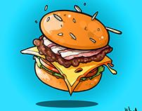 Burgers X Fries & Muffins X Donuts - 2015