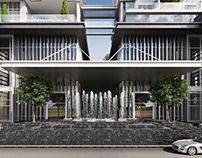 Photorealistic Exterior Visualization for a Residential