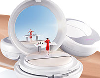 SHISEIDO Synchro Skin Cushion Compact Launch