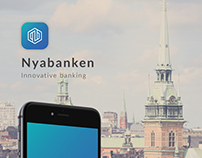 Nyabanken - Mobile App Design