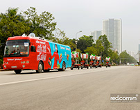 Chụp ảnh sự kiện Roadshow liên tỉnh của Vinmart