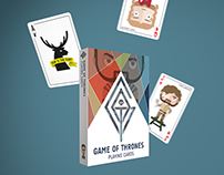 Game of Thrones Playing Cards | PRODUCT DESIGN