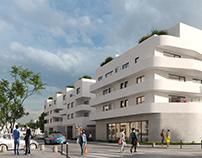 Housing in Nantes.