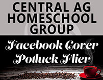 Central AG Homeschool Families group FB cover and flier