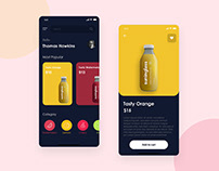 Healthy Juice App for Android