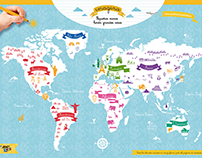World Map of cultures