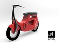 BiCykel: Ride your bike like a train