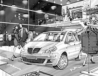 Lancia Delta event