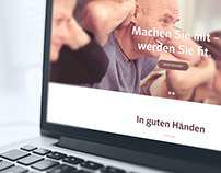 Physiotherapie Hirsekorn – Website