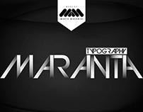 TYPOGRAPHY MARANTA