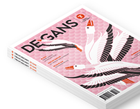 De Gans, fold-out cover design & illustration