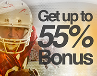 Banner: Get up to 55% Bonus