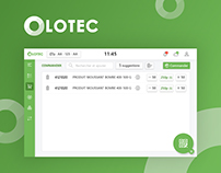 Olotec - Ordering and tracking equipment app
