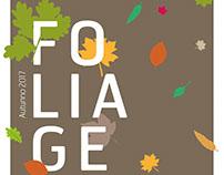 Cartell i flyer esdeveniment Foliage 2017
